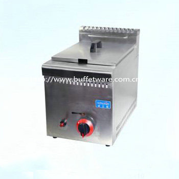 Commercial Stainless steel Single Tank Gas Fryer