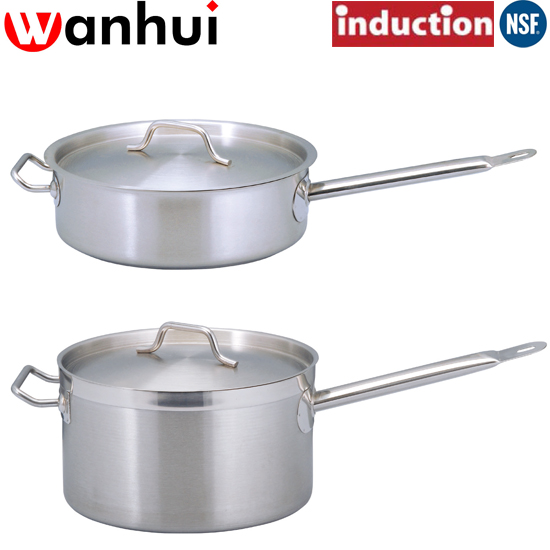 Commercial Stainless Steel Sauce Pan