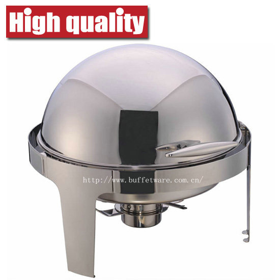 6.0L Round Roll Top Economic Chafing Dish